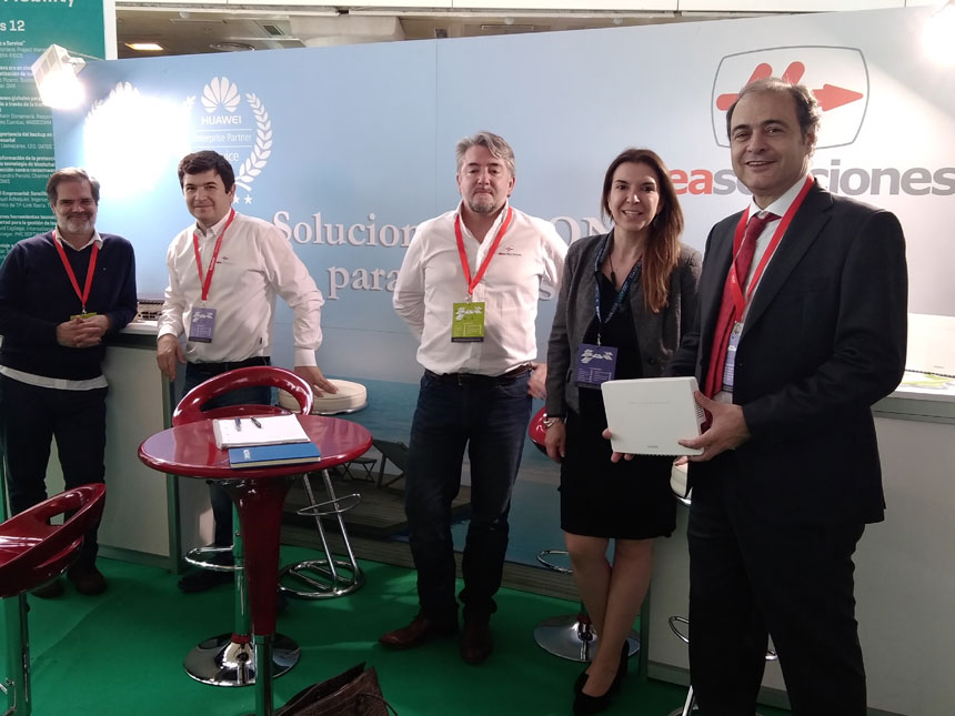 Alea Soluciones presenta su solución GPON para hoteles en Congreso Aslan 2018
