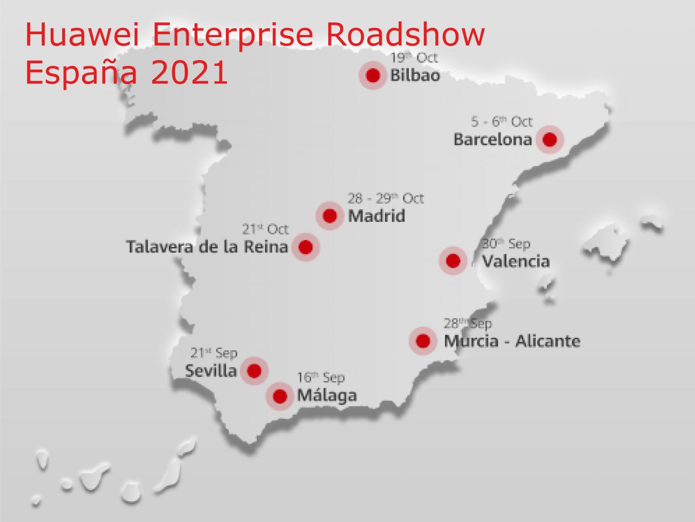 Huawei enterprise roadshow
