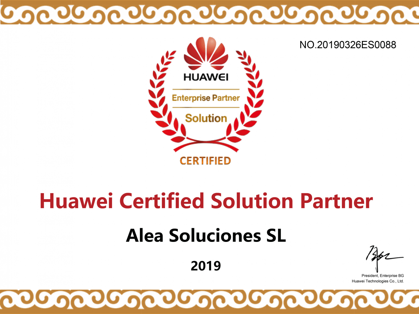 Solution Partner Huawei