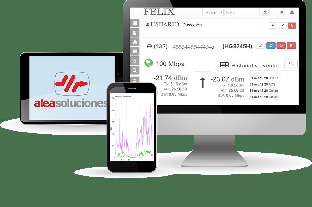 Felix - Software de gestión de red