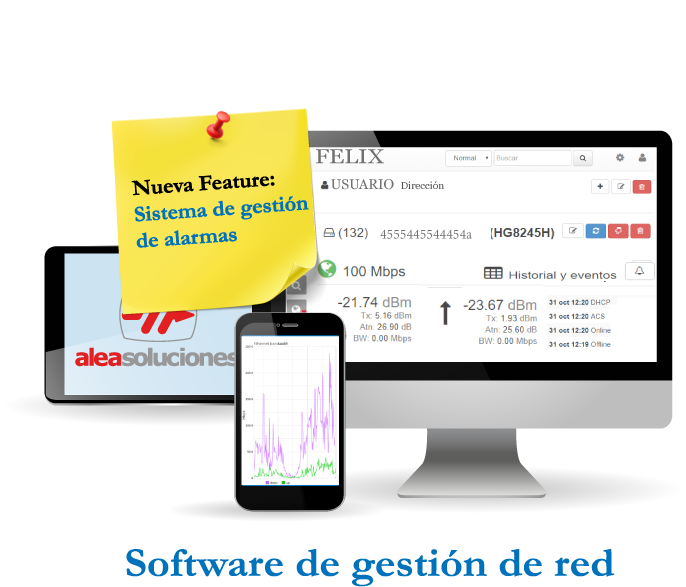 Felix - Software de gestión de red